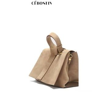 👜 Suede leather bag